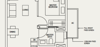 the-avenir-floor-plan-1-bedroom-1a-singapore