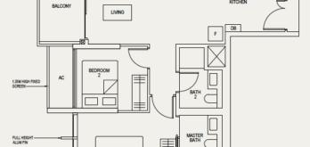 the-avenir-floor-plan-2-bedroom-2b-singapore