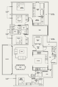 the-avenir-floor-plan-4-plus-family-4+1a-singapore