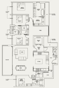 the-avenir-floor-plan-4-plus-family-4+1a-singapore